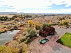 COLORADO RIVERFRONT LUXURY HOME ON 30 ACRES, POND FOR SALE