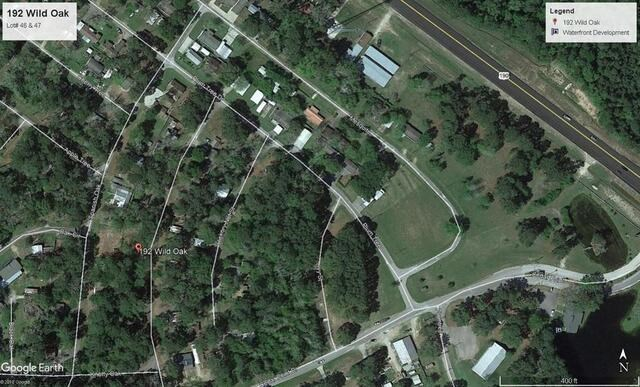 2 Adjoining Lots in Polk County, TX