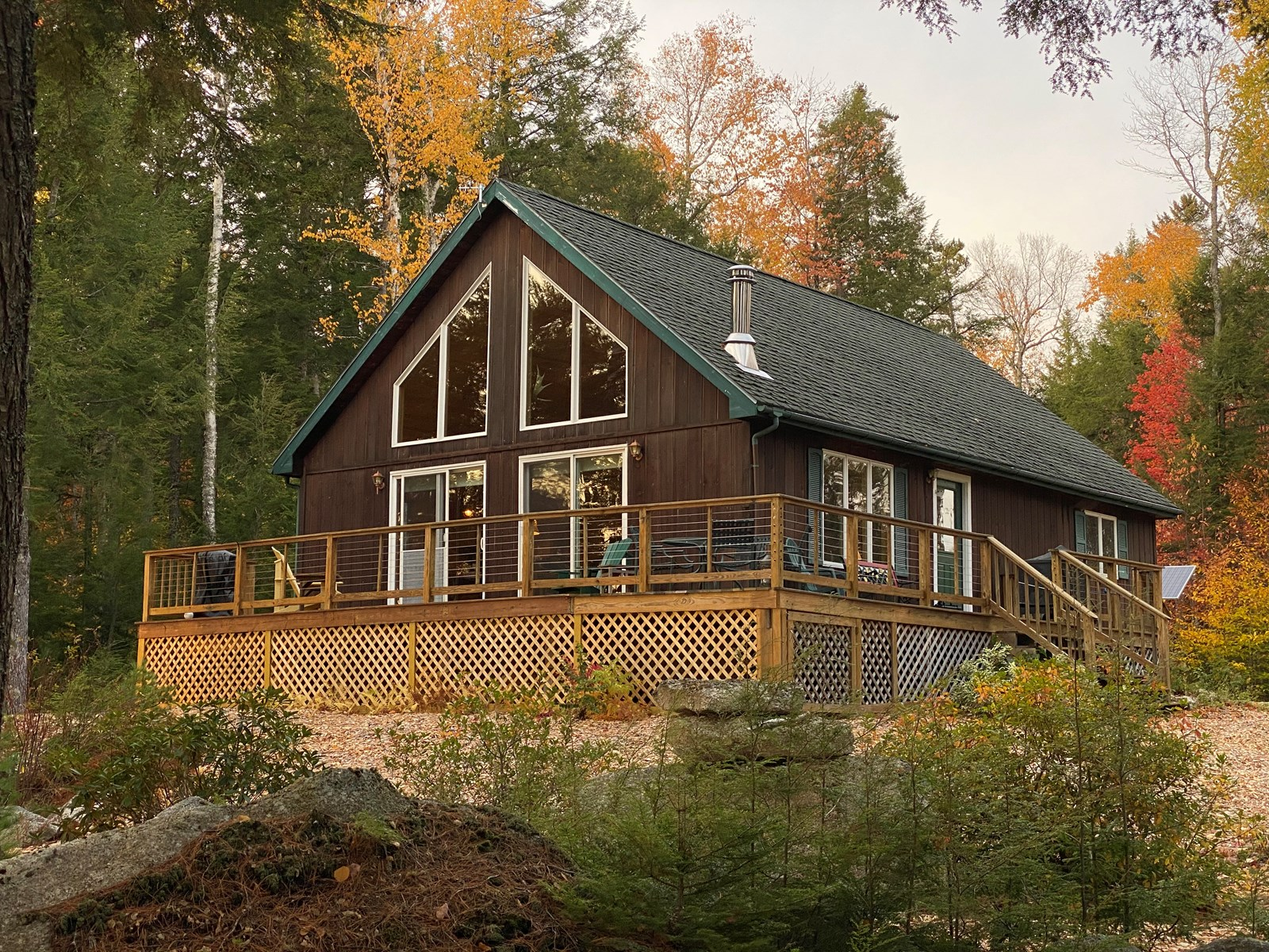 Maine Lakefront Home Surrounded by Conservation Lands