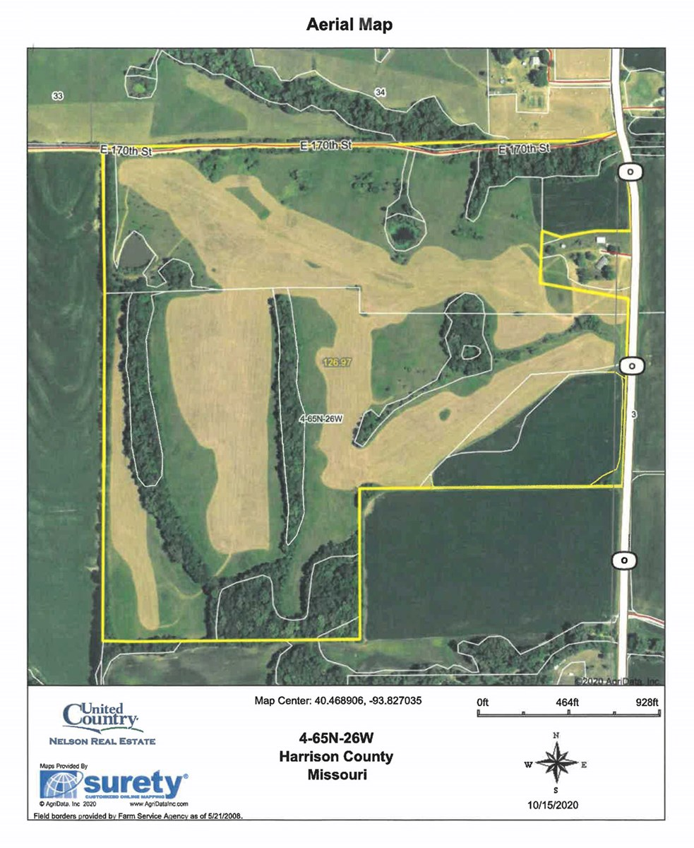 CRP, Row Crop Farm For Sale