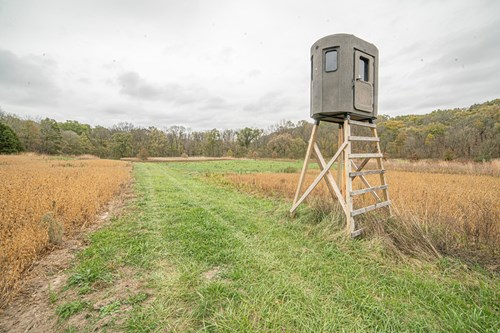 EXECELLENT HUNTING TRACK  RALLS COUNTY IN NORTHEAST MISSOURI