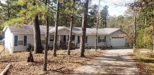 Home with shop in the woods for sale Evening Shade, AR