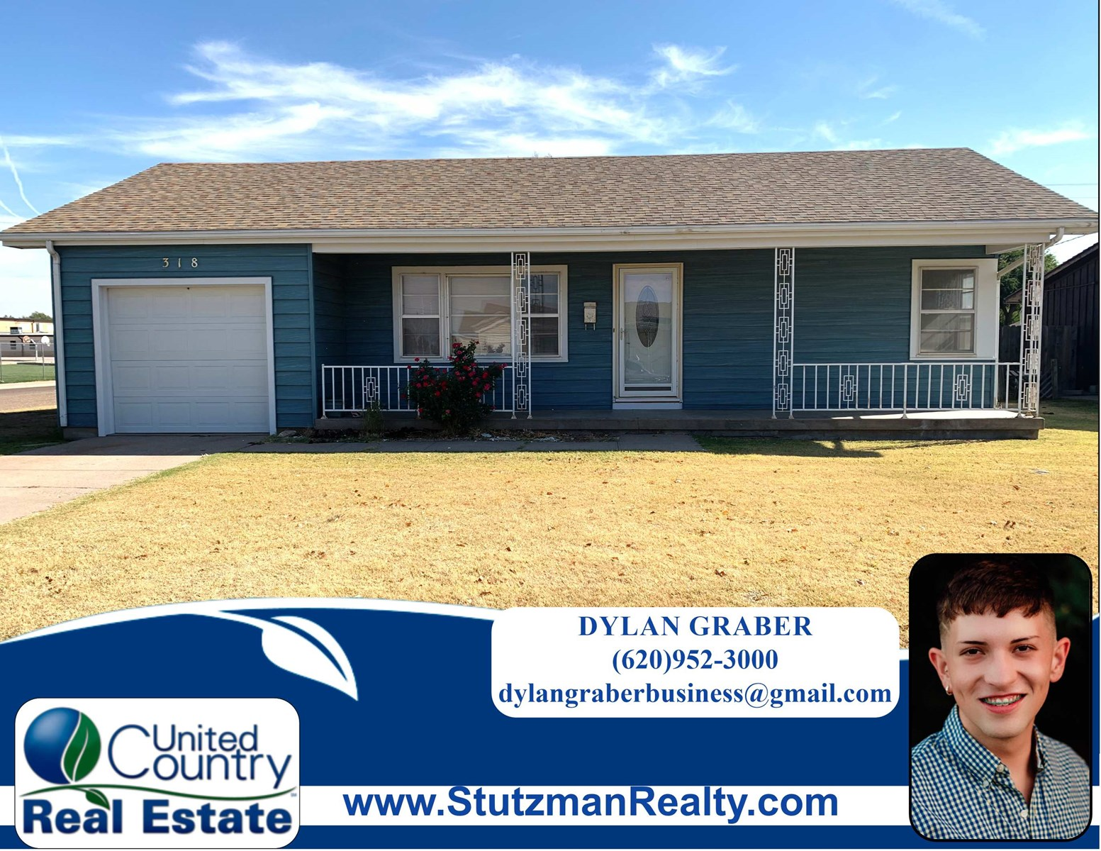 FIVE BEDROOM HOME FOR SALE CLOSE TO SCHOOLS IN ULYSSES, KS