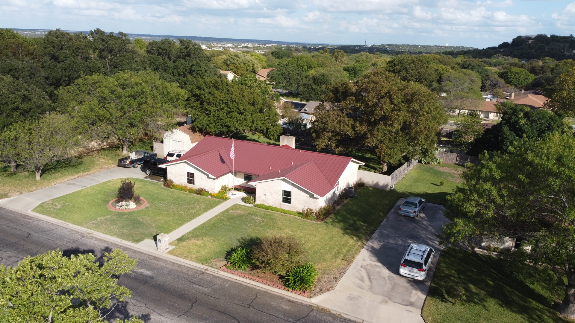 Fort Hood area Harker Heights home for sale by golf course