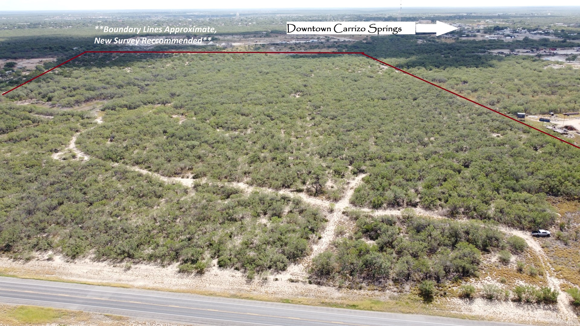 South Texas Ranch, minutes from town- Owner Financing!!