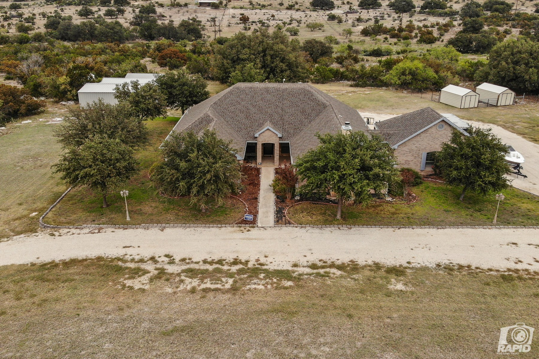 Country Home with land for sale near San Angelo, Texas