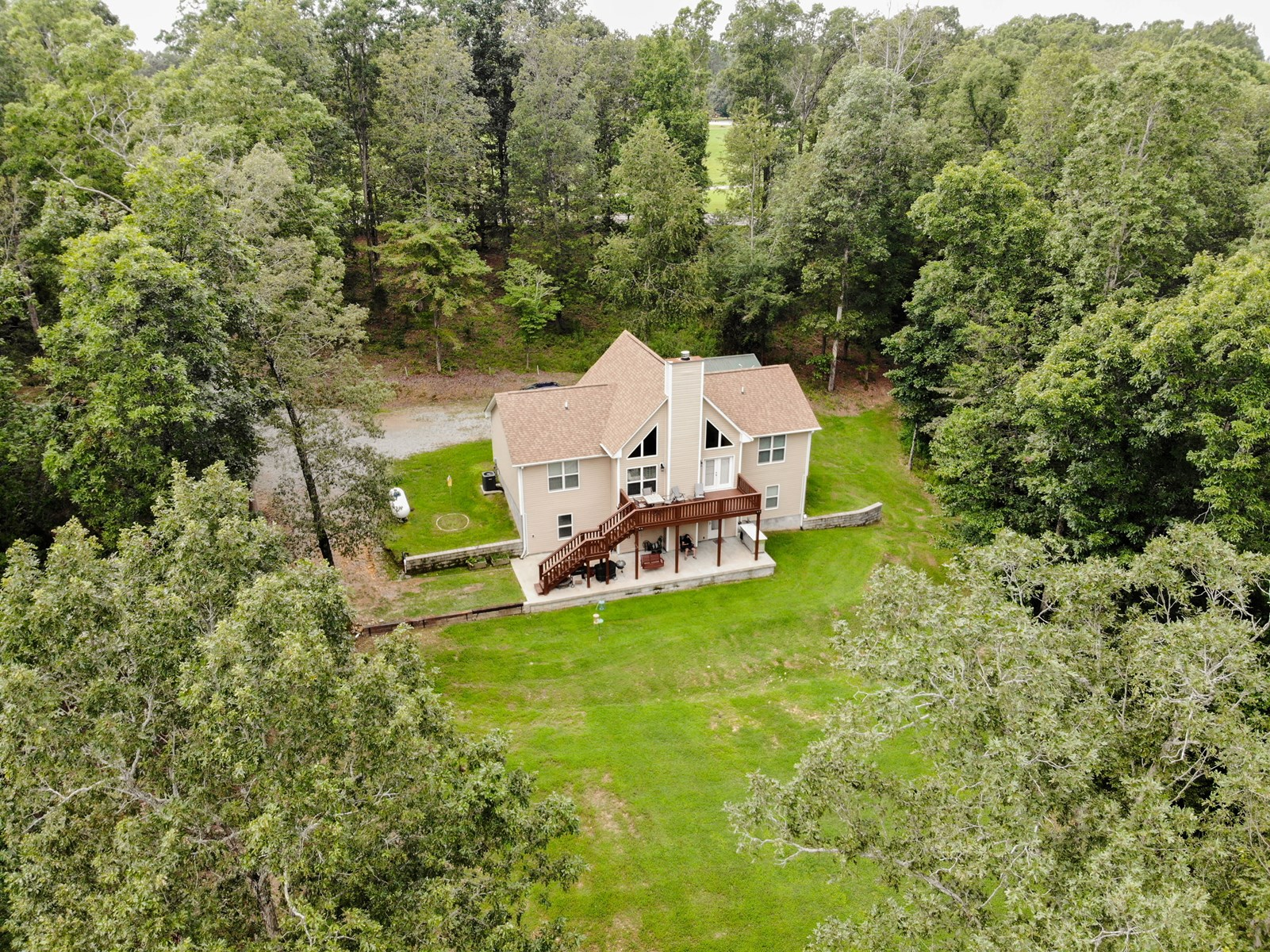 Secluded Country Home For Sale in Primm Springs, TN