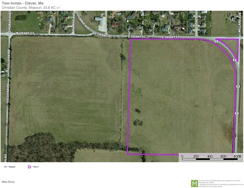 Open Vacant Pasture Land For Sale in Christian County, Mo