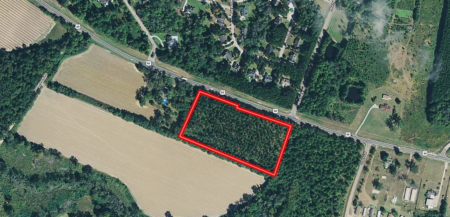 7.83 Acres Available Convenient to Statesboro and Brooklet