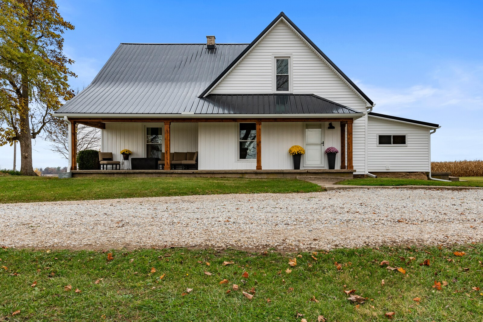 Country Home for Sale Farmland, Indiana