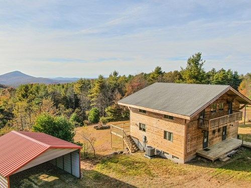 Stunning Mountain Retreat for Sale Near Blue Ridge Parkway!