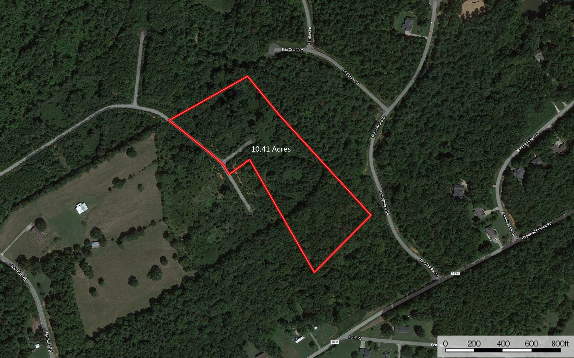 Large Lot For Sale in Catawba County NC