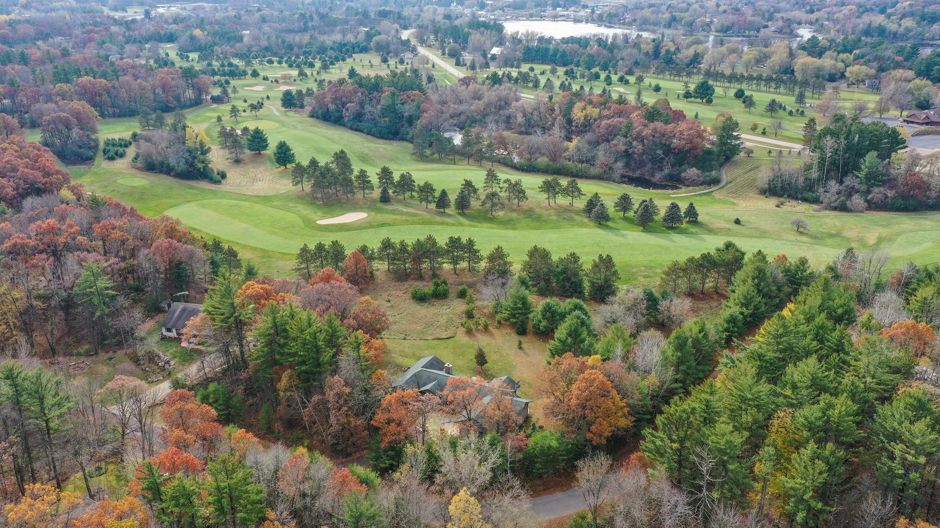 Golf Course Home For Sale in Iola, WI