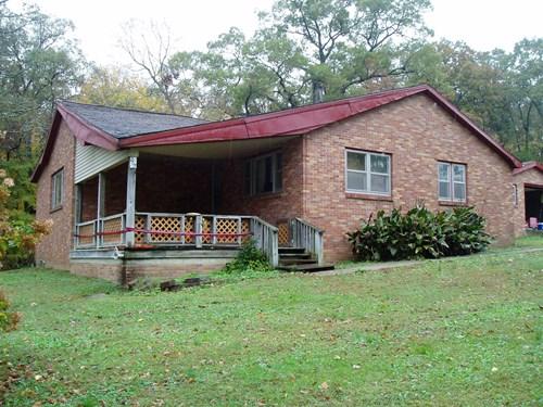 Four bedroom four bath house on 0.7 acres