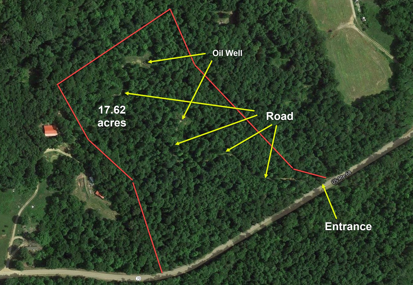 Hunting Land, Woods, Road Frontage, Edmonton KY,  Home Site