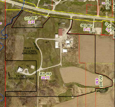 27.53 Acres +/- Oblong For Sale at Auction