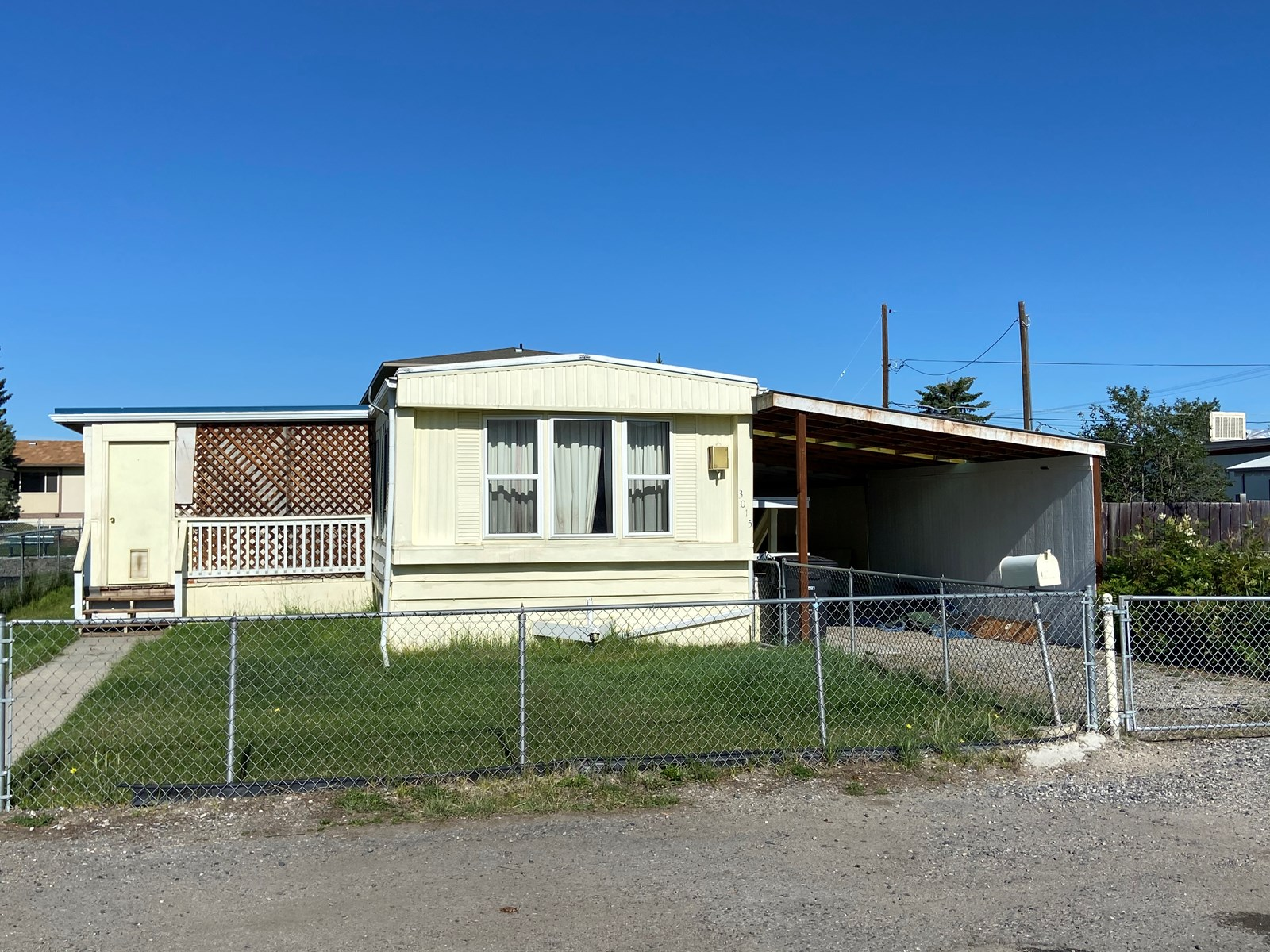 Land with Manufactured home for sale