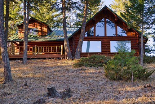 Montana Luxury Log Homes For Sale
