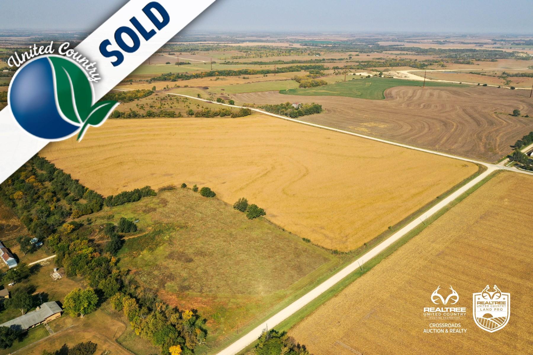 Tract #4 - North Farmland - Kansas Land Auction Farm Lands