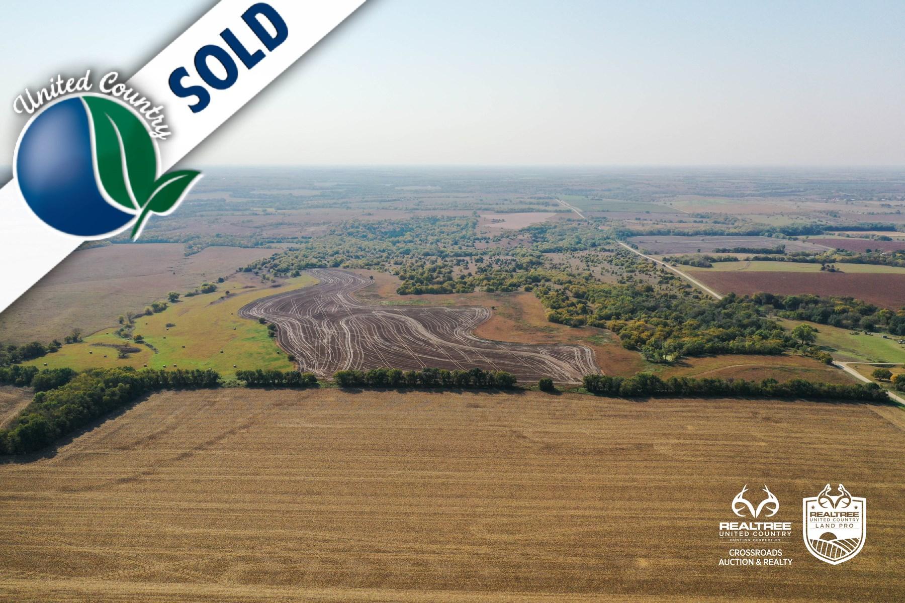 Tract #7 - East Farmland - Farm Land For Sale Geary County