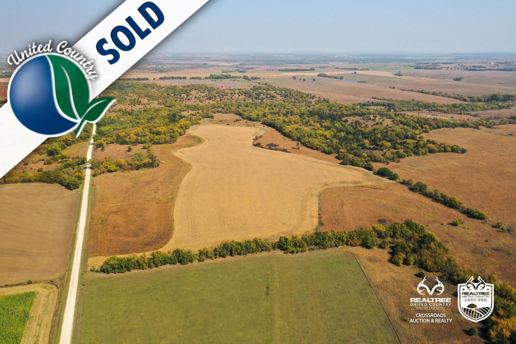 Tract #9 - Thome Farmland - Tillable Farm Auction in Kansas