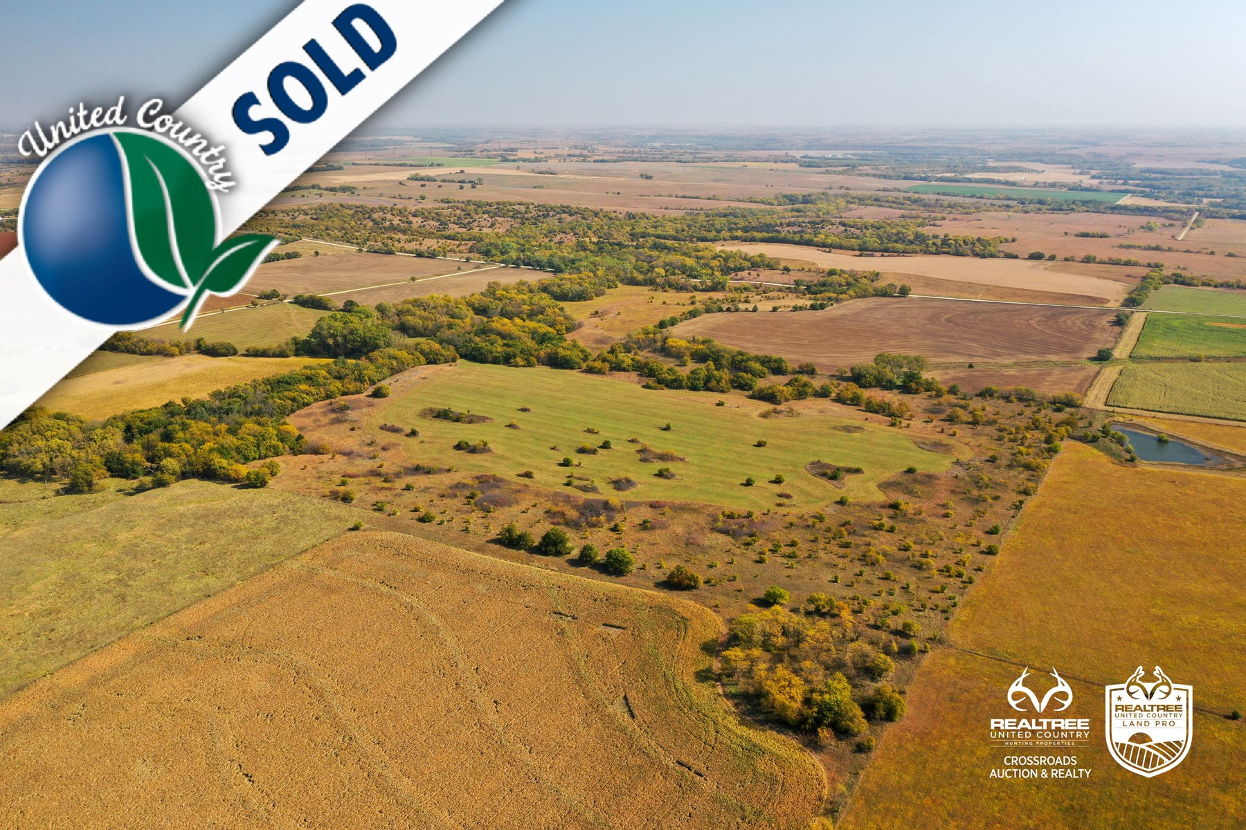 Tract #10 - South 80-Acres - Farm & Grassland Land For Sale