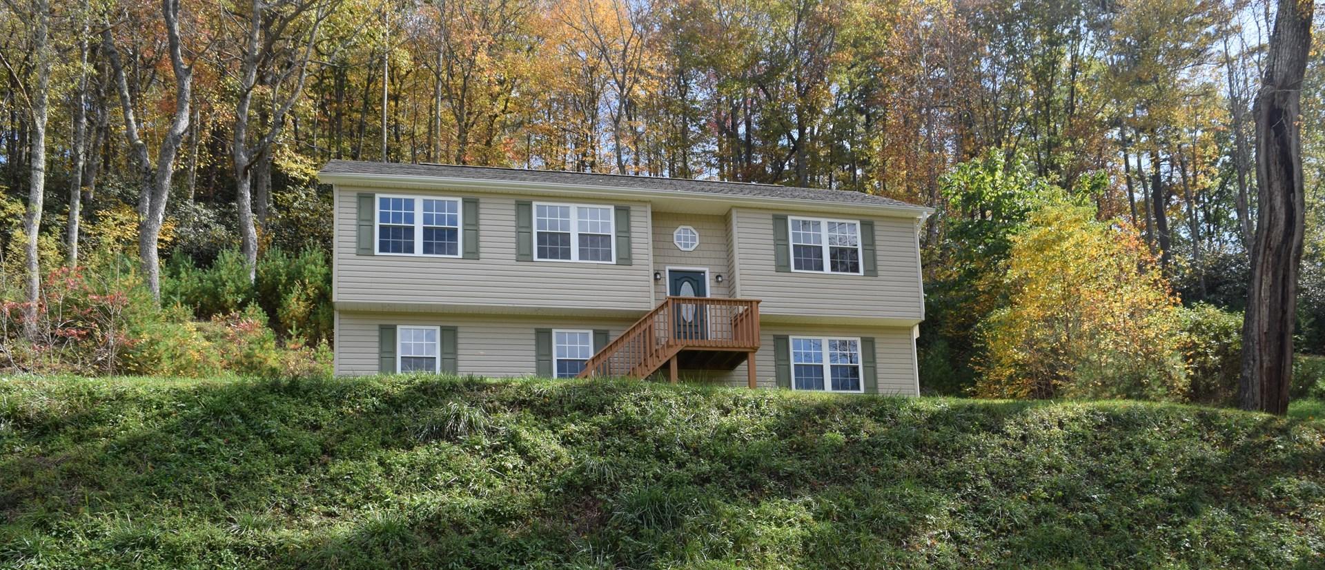 Home for Sale in Copper Hill VA!