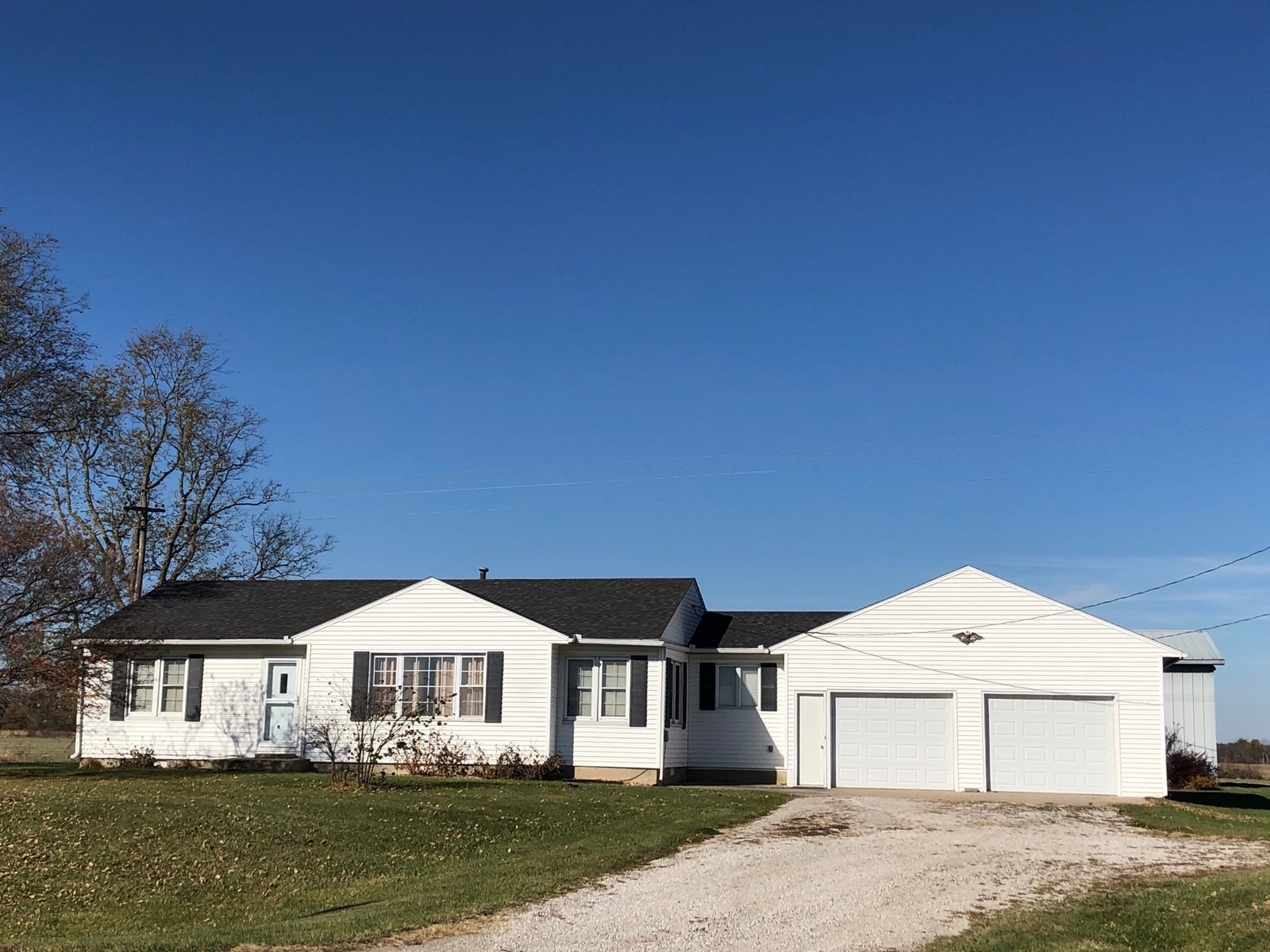 For Sale Ranch Home With Morton Building On 1/2 Acre