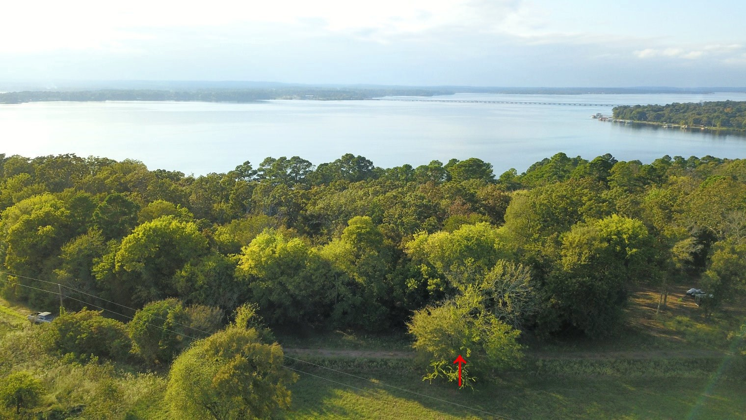 RECREATIONAL WATERFRONT ACREAGE FOR SALE LAKE PALESTINE