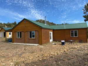 CABIN FOR SALE ON 12.9 ACRES IN WESTCLIFFE CO