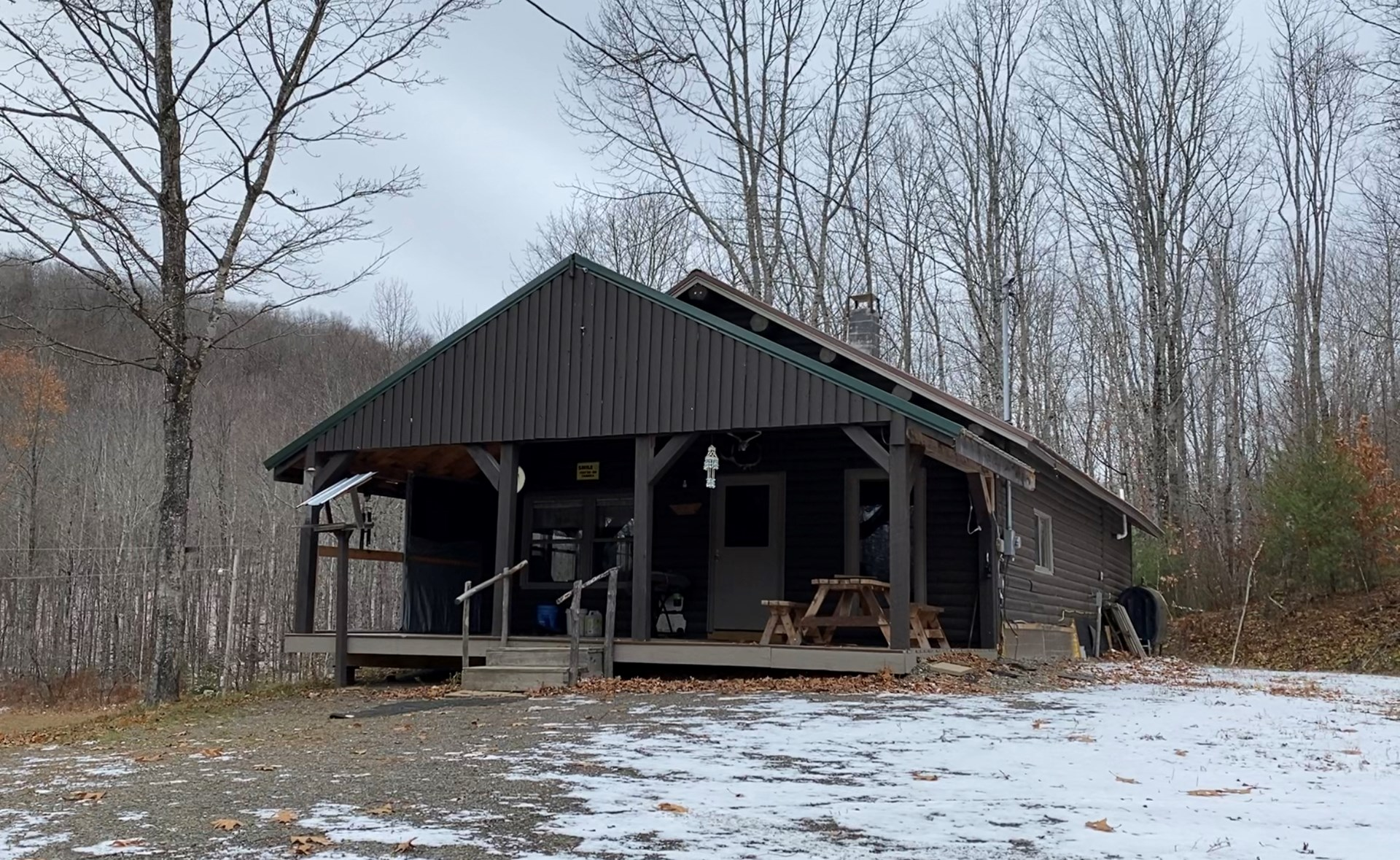 Log Cabin for Sale in Aroostook County