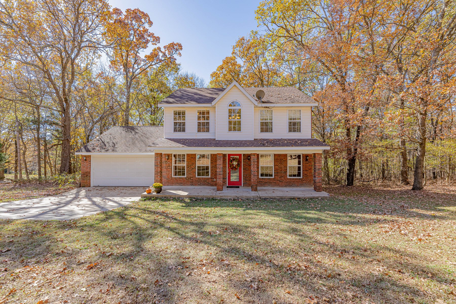 Northwest Arkansas Country Home For Sale on 3 Acres