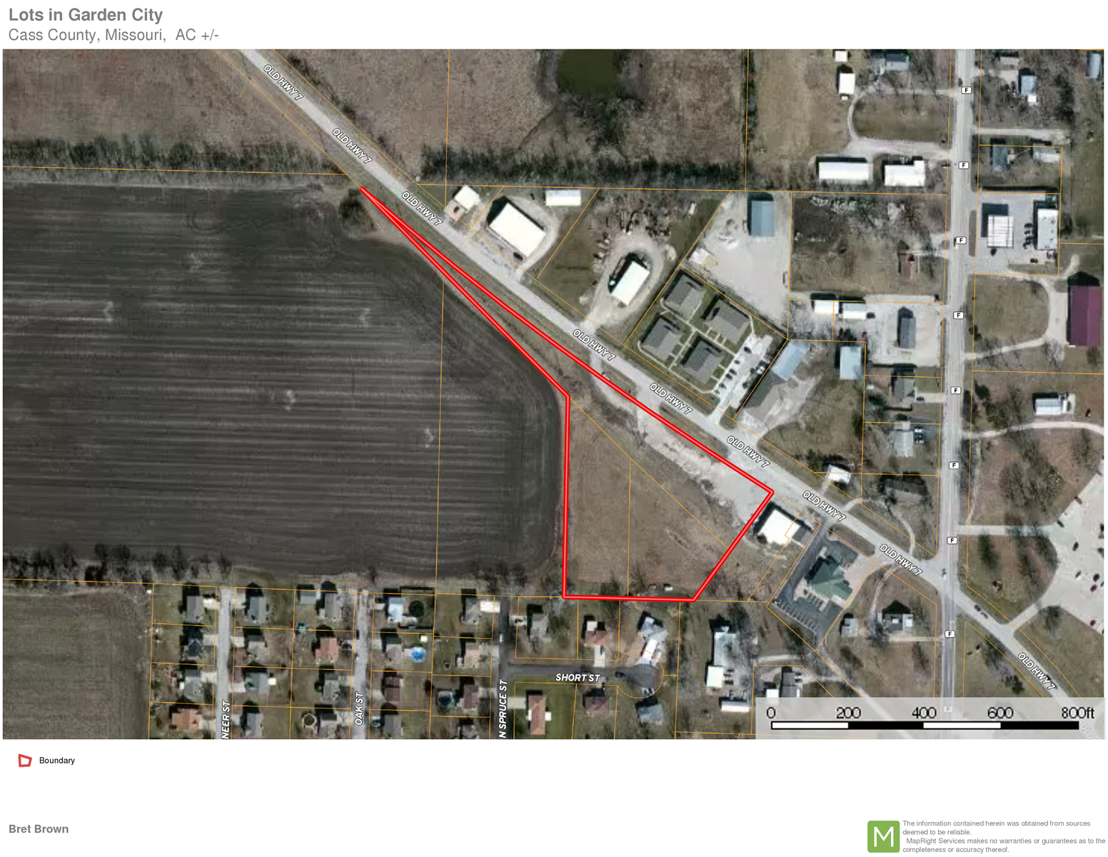 Land for Sale in Garden City, Cass County