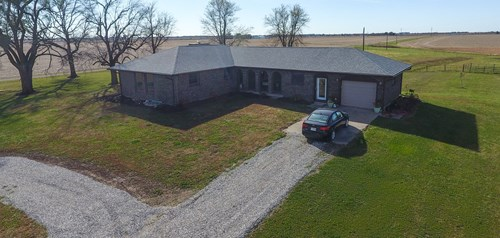 Completely Remodeled Country Home on 55 Acres | Audrain Co.