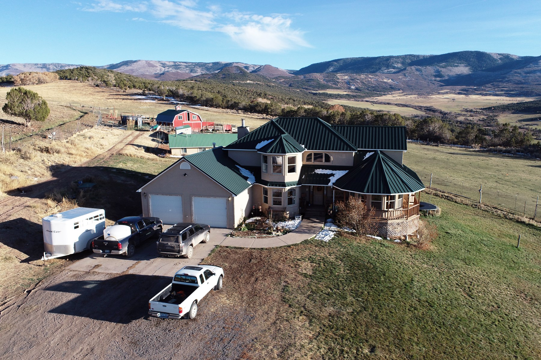 Country Home with Barn and Irrigated Acreage For sale in CO