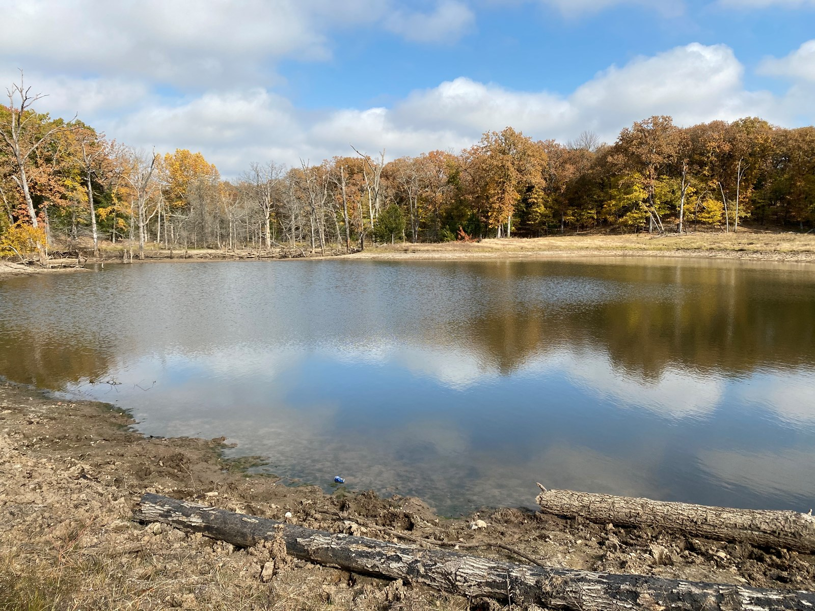 SOUTHERN OKLAHOMA RECREATIONAL PROPERTY W/ LARGE POND