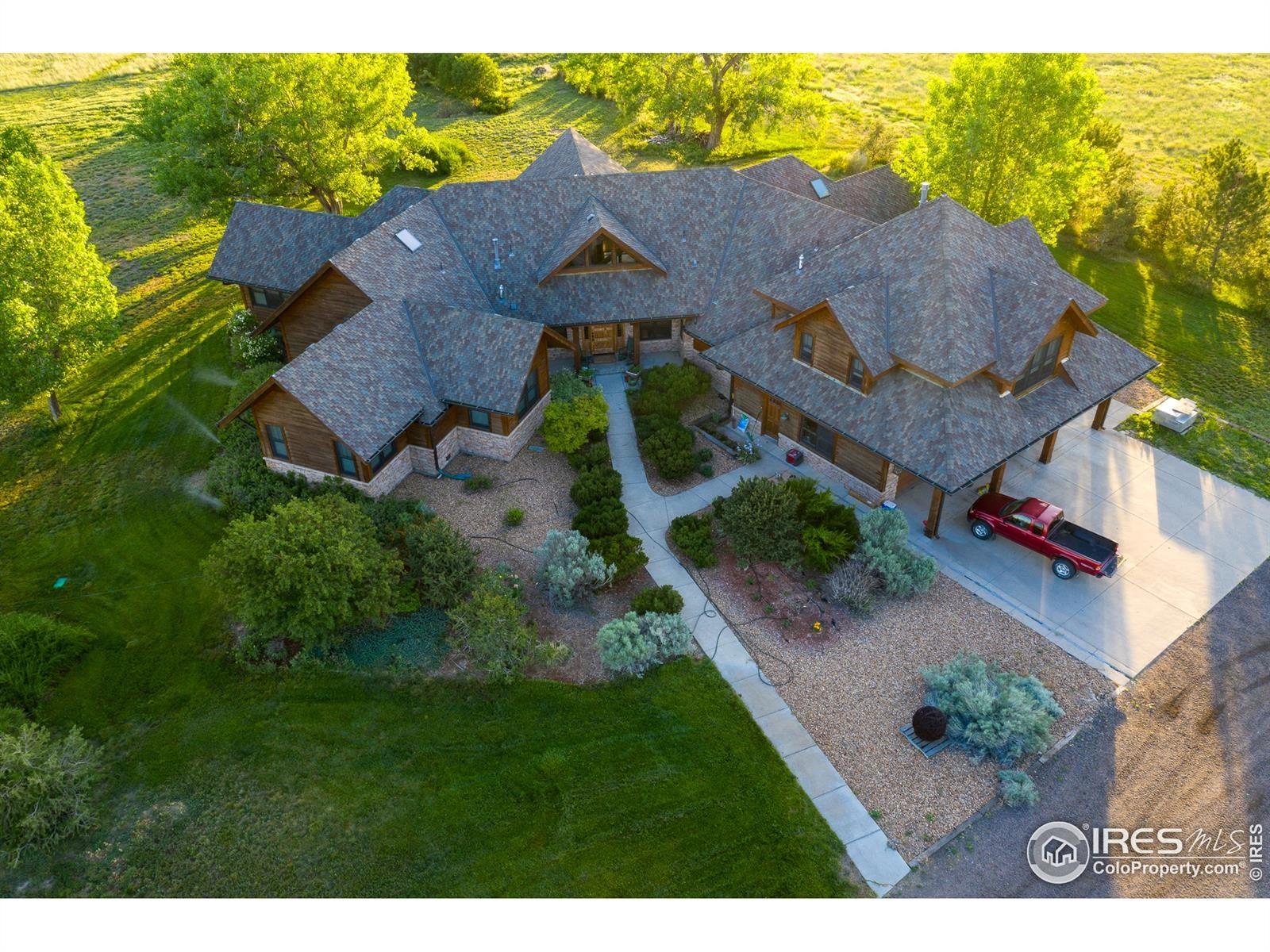Colorado Luxury Horse Ranch For Sale Hudson Colorado