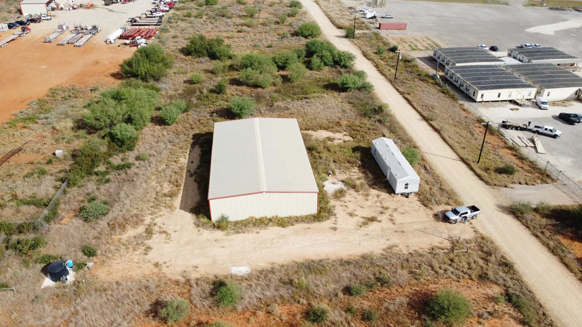Warehouse, office, & 2.5 AC For Sale in Heart of Eagle Ford!