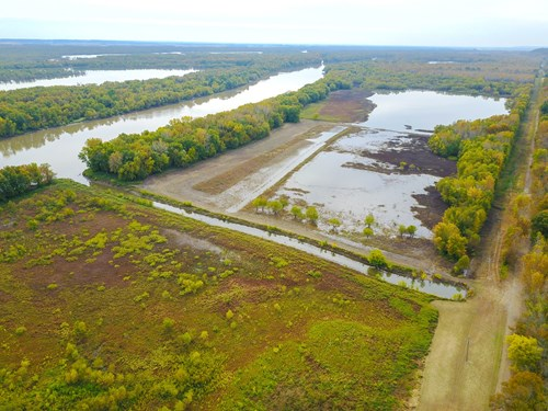 Browning IL Waterfowl Hunting Farm Land For Sale at Auction