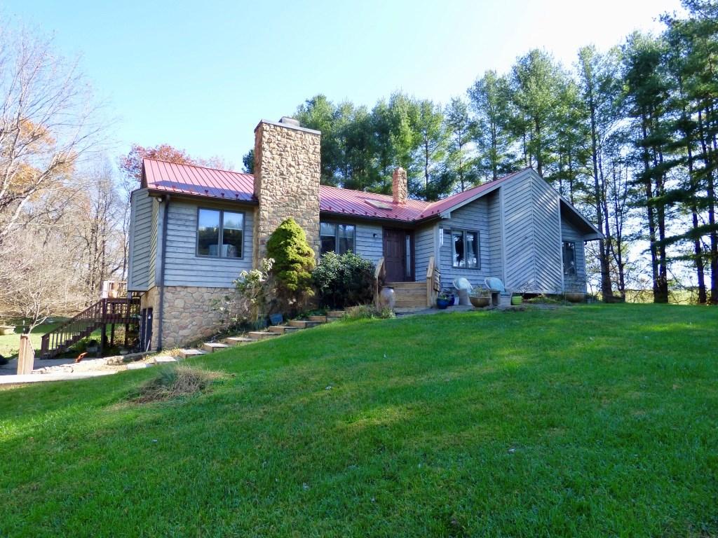 Custom Built Home Near Town of Floyd VA for Sale!