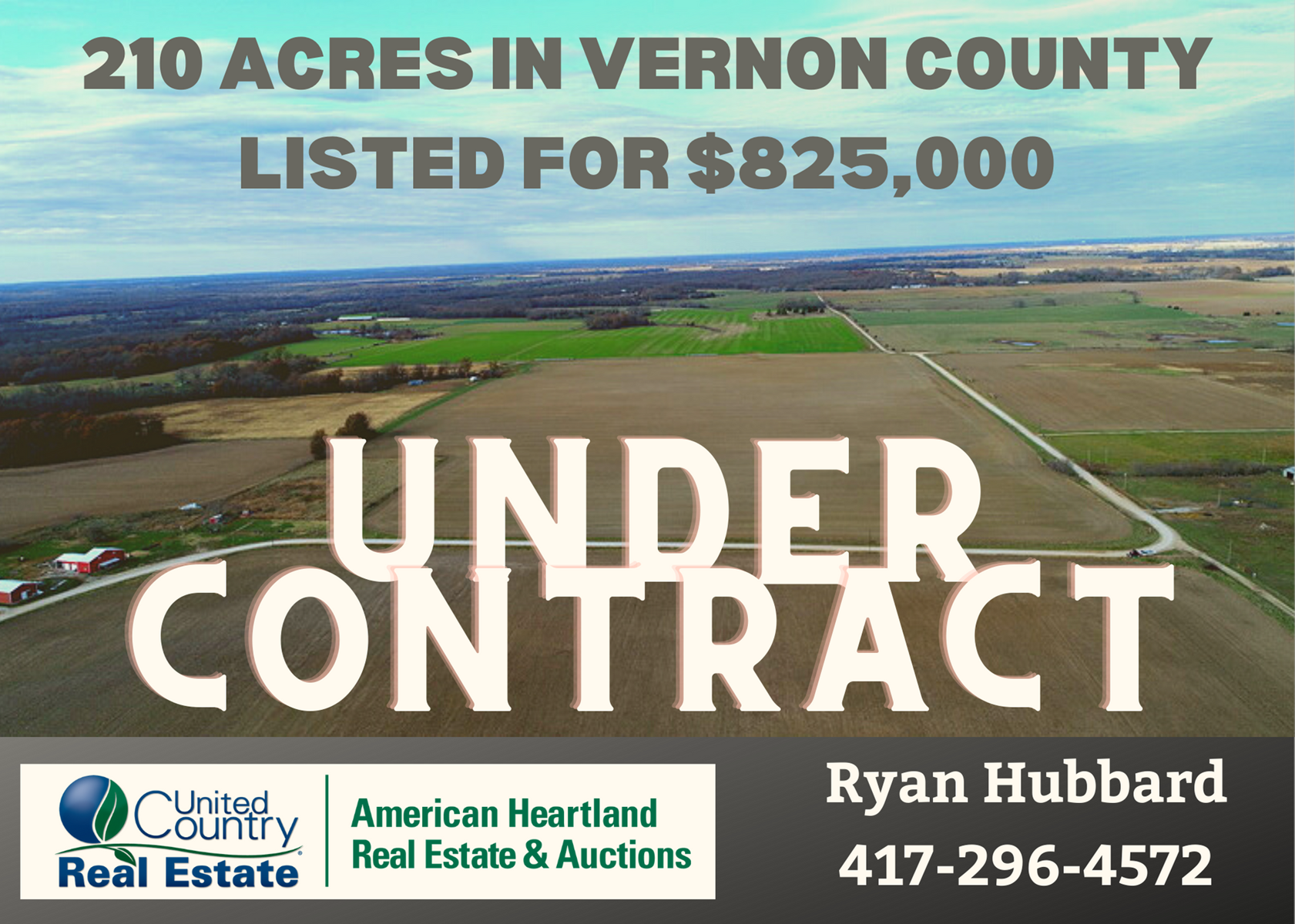 210 Acre Investment Property in Eastern Vernon County MO