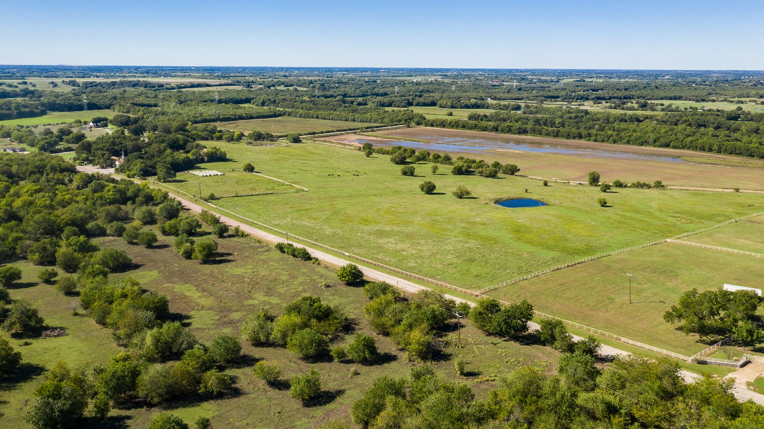 TX Farm Land for Sale East of McKinney with Homesites