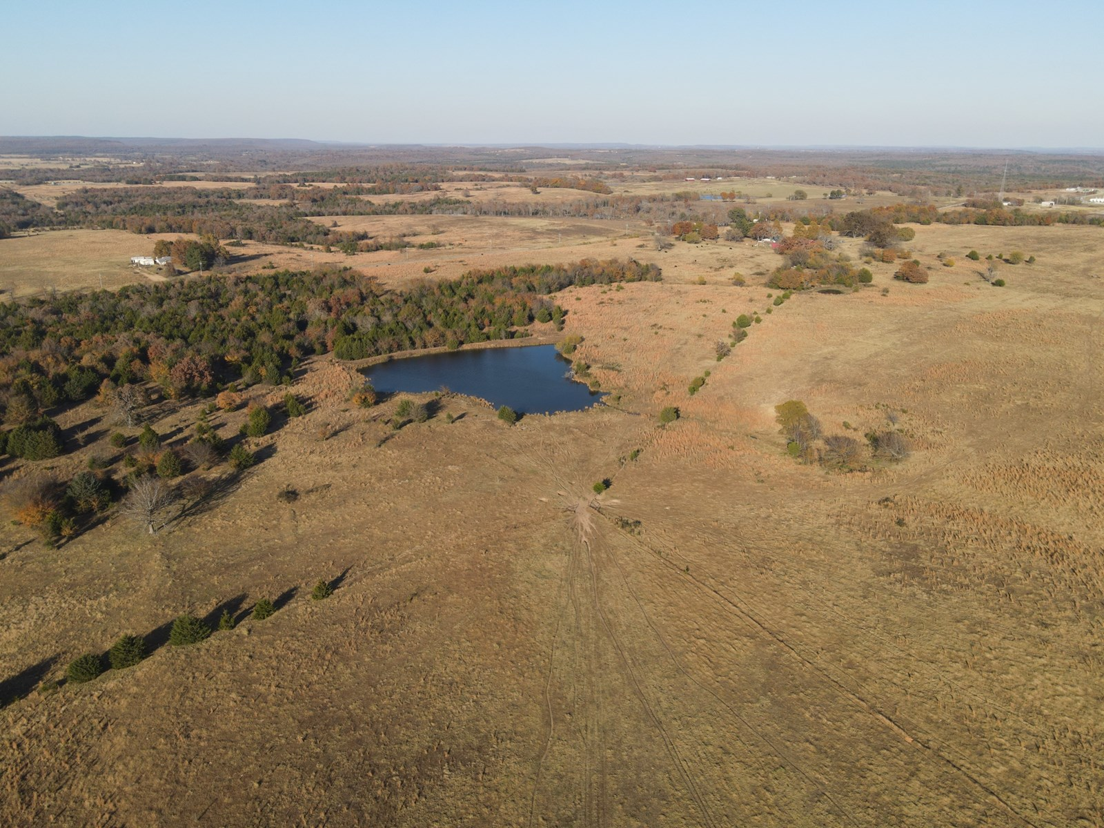 Large Cattle & Hunting Ranch For Sale Stuart Oklahoma