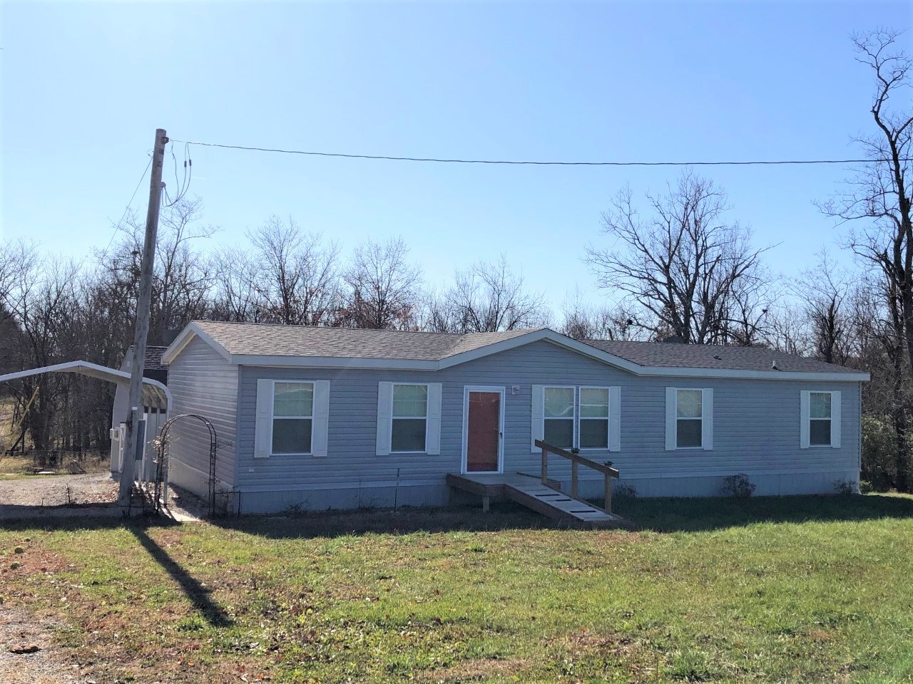 Newer Manufactured Home With 5 Acres M/L For Sale