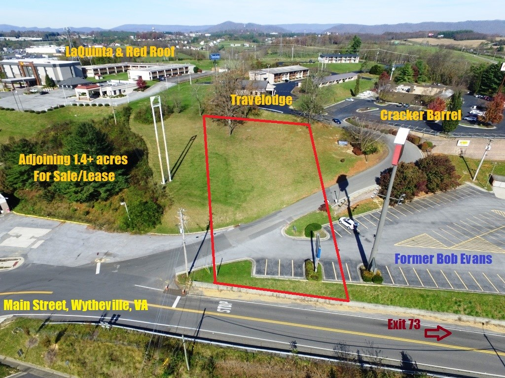 Commercial Acreage on Exit 73 of I-81/I-77 in Wytheville, VA
