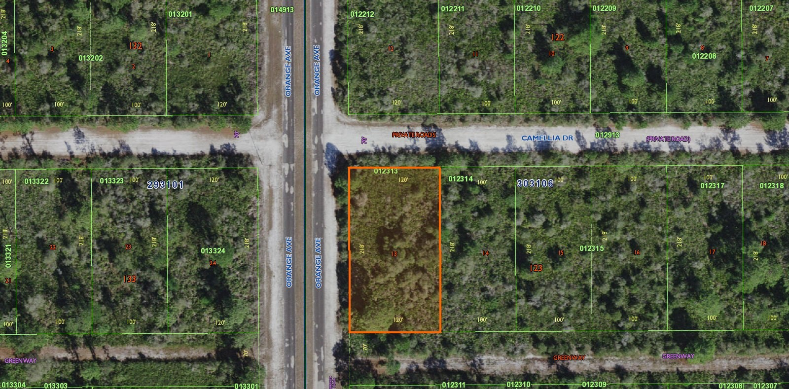 0.50 ACRE LOT, VACANT LAND, CENTRAL FLORIDA, COUNTRY LIVING