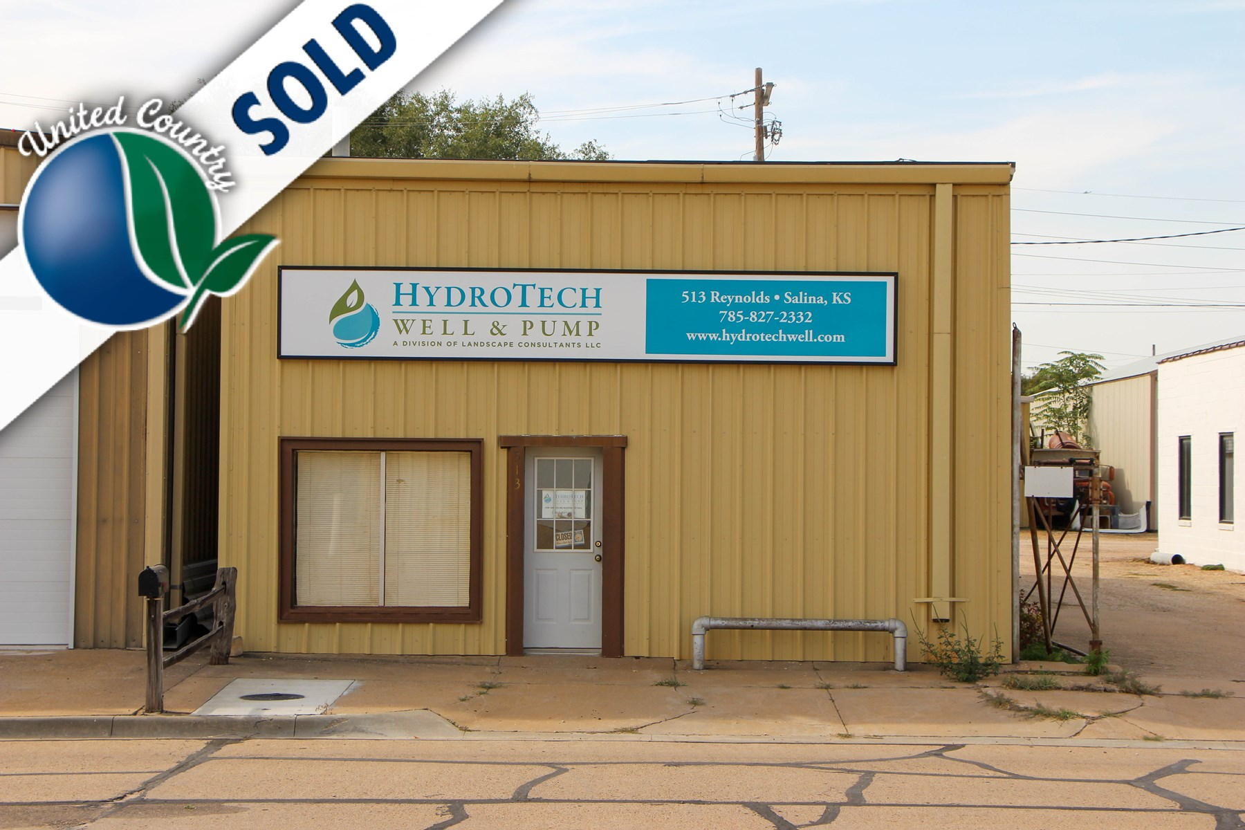 Lot #1 - Commercial Industrial Building with Office Space