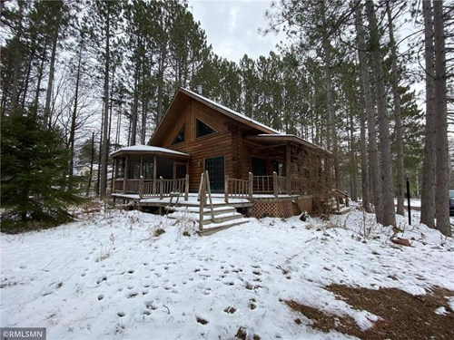 Log Home For Sale MN, Home with Acreage for Sale Moose Lake