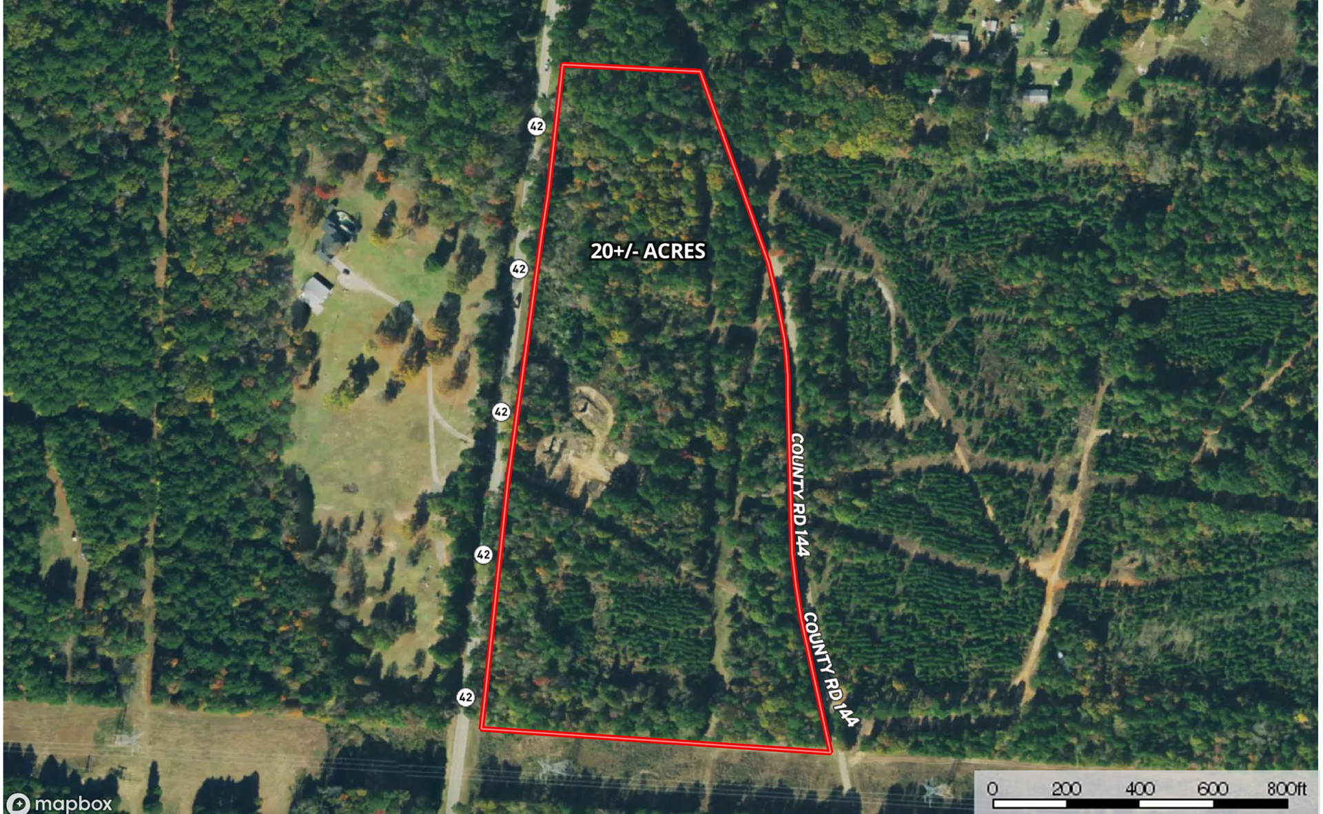 East Texas Hunting Land for Sale in Overton Rusk County