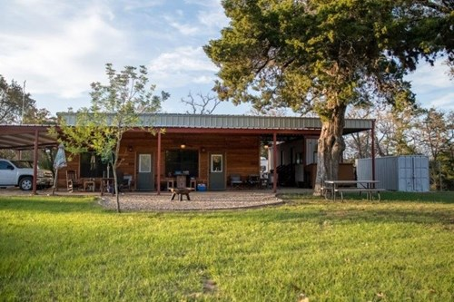 Country Home on 45 Acres For Sale - Marquez, Leon County TX